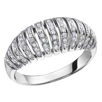 Diamond Band 10KT 0.40cts. T.W. Stock # 115-W3024