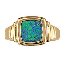 Boulder Opal Doublet 10KT 211-41461