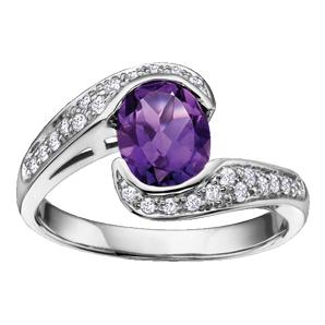 Amethyst Ring 10KT 202-2393