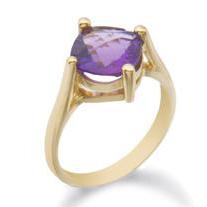 Amethyst Ring 10KT 202-87613