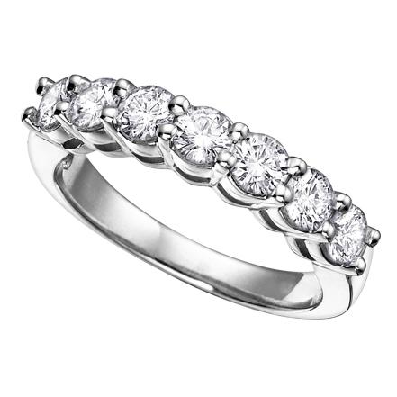 Diamond Band 14KT 7=0.50cts. T.W. Stock # 115-W3051