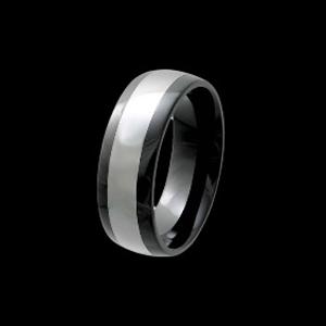 Tungsten Ceramic Band 8MM 234-23056