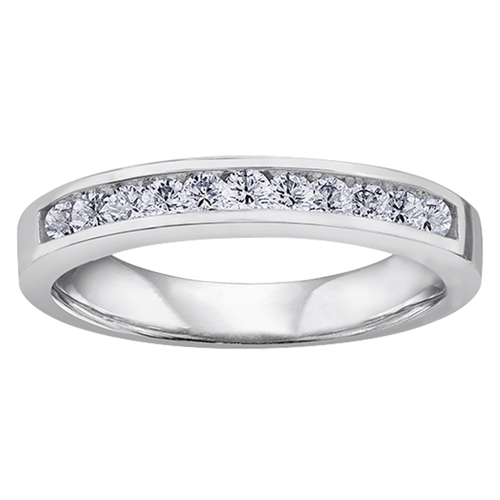 14KT Diamond Band 13=0.33cts. T.W. 115 W3097