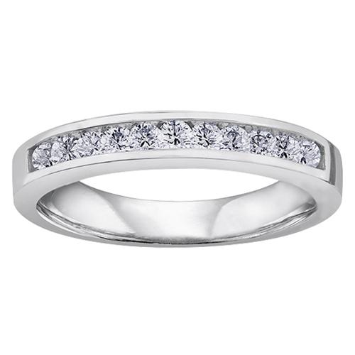 14KT Diamond Band 13=0.33cts. T.W. 115 W3097