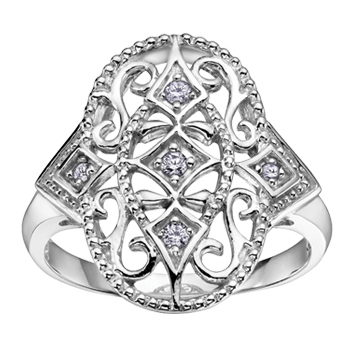 Diamond Ring 10KT 204-2323