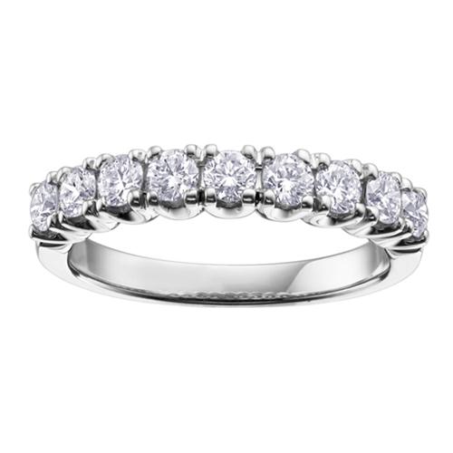 Canadian Maple Leaf Diamond Band 0.30ct T.W. PW18KT Stock # 115 W3143