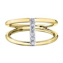 Diamond Ring 10KT 6=0.09cts. T.W. Stock # 204-3031