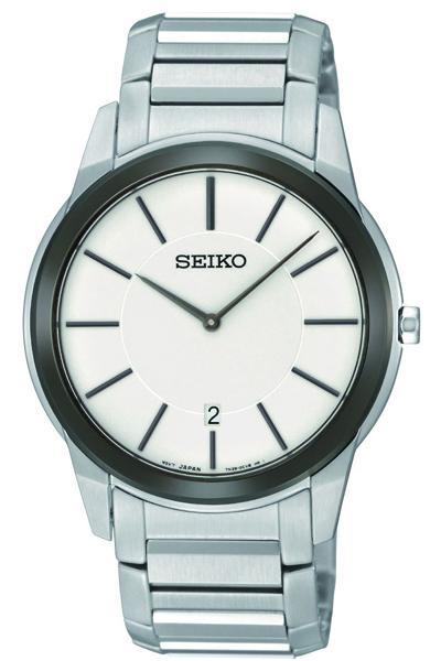 Seiko Dress Sapphire Crystal SKP377
