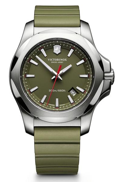Victorinox Swiss Army I.N.O.X. Green 241683.1 43mm case